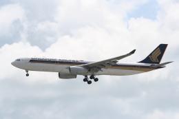 NIKEさんが、シンガポール・チャンギ国際空港で撮影したシンガポール航空 A330-343Xの航空フォト(飛行機 写真・画像)