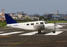 LOTUSさんが、八尾空港で撮影した大阪航空 PA-34-220T Seneca Vの航空フォト(飛行機 写真・画像)