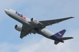 木人さんが、成田国際空港で撮影したフェデックス・エクスプレス 777-FS2の航空フォト(飛行機 写真・画像)