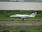 ヒコーキグモさんが、岡南飛行場で撮影したジャプコン 525 Citation M2の航空フォト(飛行機 写真・画像)