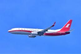 Hiro Satoさんが、スワンナプーム国際空港で撮影した上海航空 737-89Pの航空フォト(飛行機 写真・画像)
