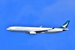 Hiro Satoさんが、スワンナプーム国際空港で撮影したキャセイパシフィック航空 A330-343Xの航空フォト(飛行機 写真・画像)