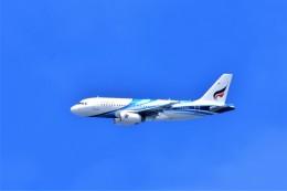 Hiro Satoさんが、スワンナプーム国際空港で撮影したバンコクエアウェイズ A319-132の航空フォト(飛行機 写真・画像)