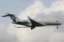 やまけんさんが、成田国際空港で撮影したウィルミントン・トラスト・カンパニー BD-700 Global Express/5000/6000の航空フォト(飛行機 写真・画像)