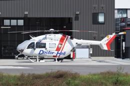 YASKYさんが、前橋赤十字病院で撮影した朝日航洋 BK117C-2の航空フォト(飛行機 写真・画像)