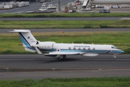Sharp Fukudaさんが、羽田空港で撮影した海上保安庁 G-V Gulfstream Vの航空フォト(飛行機 写真・画像)