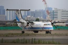Hiro-hiroさんが、羽田空港で撮影した海上保安庁 DHC-8-315 Dash 8の航空フォト(飛行機 写真・画像)