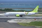 sumihan_2010さんが、那覇空港で撮影したソラシド エア 737-81Dの航空フォト(飛行機 写真・画像)
