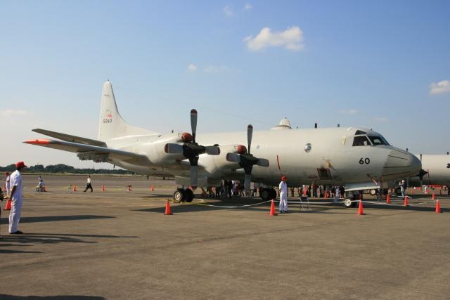 kahluamilkさんが、下総航空基地で撮影した海上自衛隊 P-3Cの航空フォト(飛行機 写真・画像)