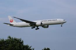 Liangさんが、成田国際空港で撮影した日本航空 777-346/ERの航空フォト(飛行機 写真・画像)