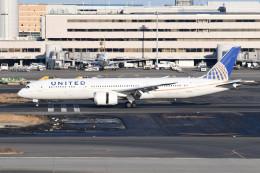 kuro2059さんが、羽田空港で撮影したユナイテッド航空 787-9の航空フォト(飛行機 写真・画像)