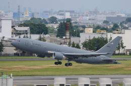 筑波のヘリ撮りさんが、横田基地で撮影したアメリカ空軍 KC-46A Pegasus (767-2LKC)の航空フォト(飛行機 写真・画像)