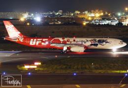 dave_0402さんが、台湾桃園国際空港で撮影したエアアジア・エックス A330-343Xの航空フォト(飛行機 写真・画像)
