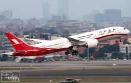 dave_0402さんが、上海虹橋国際空港で撮影した上海航空 787-9の航空フォト(飛行機 写真・画像)