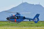 Gambardierさんが、岡南飛行場で撮影した福岡県警察 EC135P2+の航空フォト(飛行機 写真・画像)