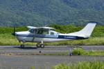 Gambardierさんが、岡南飛行場で撮影した共立航空撮影 TU206G Turbo Stationair 6の航空フォト(飛行機 写真・画像)