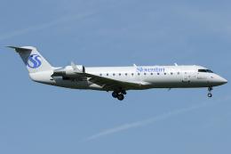 Hariboさんが、チューリッヒ空港で撮影したスティリアン・スピリット CL-600-2B19 Regional Jet CRJ-200LRの航空フォト(飛行機 写真・画像)