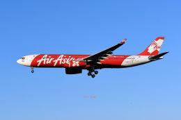 キットカットさんが、成田国際空港で撮影したインドネシア・エアアジア・エックス A330-343Xの航空フォト(飛行機 写真・画像)