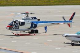 E-75さんが、函館空港で撮影した中日本航空 AS350B Ecureuilの航空フォト(飛行機 写真・画像)