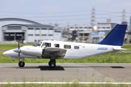Hii82さんが、八尾空港で撮影した大阪航空 PA-34-220T Seneca Vの航空フォト(飛行機 写真・画像)