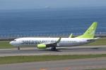 ANA744Foreverさんが、中部国際空港で撮影したソラシド エア 737-81Dの航空フォト(飛行機 写真・画像)