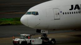 るかりおさんが、羽田空港で撮影した日本航空 777-289の航空フォト(飛行機 写真・画像)