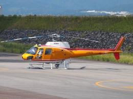 FT51ANさんが、富山空港で撮影した東邦航空 AS350B Ecureuilの航空フォト(飛行機 写真・画像)