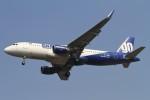 BTYUTAさんが、インディラ・ガンディー国際空港で撮影したゴーエア A320-214の航空フォト(飛行機 写真・画像)