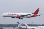 kinsanさんが、成田国際空港で撮影したアビアンカ航空 787-8 Dreamlinerの航空フォト(飛行機 写真・画像)
