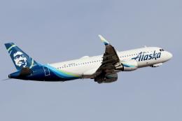 キャスバルさんが、フェニックス・スカイハーバー国際空港で撮影したアラスカ航空 A320-214の航空フォト(飛行機 写真・画像)