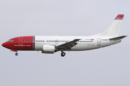 Hariboさんが、コペンハーゲン国際空港で撮影したノルウェー・エアシャトル 737-3Y5の航空フォト(飛行機 写真・画像)