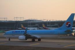 Rsaさんが、仁川国際空港で撮影した大韓航空 737-8BKの航空フォト(飛行機 写真・画像)
