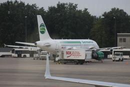Rsaさんが、ベルリン・テーゲル空港で撮影したゲルマニア A319-112の航空フォト(飛行機 写真・画像)