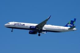 zettaishinさんが、ジェネラル・エドワード・ローレンス・ローガン国際空港で撮影したジェットブルー A321-231の航空フォト(飛行機 写真・画像)