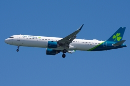 zettaishinさんが、ジェネラル・エドワード・ローレンス・ローガン国際空港で撮影したエア・リンガス A321-253NXの航空フォト(飛行機 写真・画像)