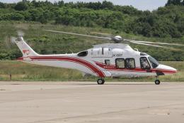 西風さんが、大館能代空港で撮影した東北エアサービス AW169の航空フォト(飛行機 写真・画像)
