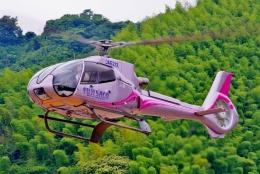 ブルーさんさんが、静岡ヘリポートで撮影した日本法人所有 EC130B4の航空フォト(飛行機 写真・画像)