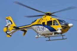 ブルーさんさんが、静岡ヘリポートで撮影した中日本航空 EC135P2の航空フォト(飛行機 写真・画像)