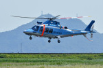Gambardierさんが、岡南飛行場で撮影した鳥取県警察 AW109SPの航空フォト(飛行機 写真・画像)