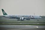 東亜国内航空さんが、台湾桃園国際空港で撮影したエバー航空 777-35E/ERの航空フォト(飛行機 写真・画像)