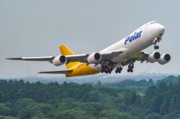 K.Sさんが、成田国際空港で撮影したポーラーエアカーゴ 747-87UF/SCDの航空フォト(飛行機 写真・画像)