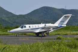 Gambardierさんが、岡南飛行場で撮影したグラフィック 525A Citation CJ1の航空フォト(飛行機 写真・画像)