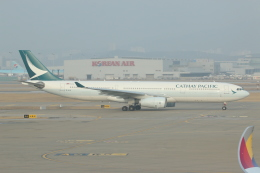 NIKEさんが、仁川国際空港で撮影したキャセイパシフィック航空 A330-342の航空フォト(飛行機 写真・画像)