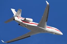 キャスバルさんが、フェニックス・スカイハーバー国際空港で撮影したハネウェル Falcon 7Xの航空フォト(飛行機 写真・画像)