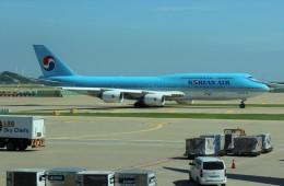Rsaさんが、仁川国際空港で撮影した大韓航空 747-8B5の航空フォト(飛行機 写真・画像)