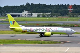 サンドバンクさんが、成田国際空港で撮影したジンエアー 737-86Nの航空フォト(飛行機 写真・画像)