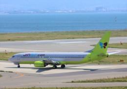 Rsaさんが、関西国際空港で撮影したジンエアー 737-86Nの航空フォト(飛行機 写真・画像)
