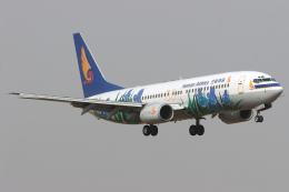 Hariboさんが、北京首都国際空港で撮影した海南航空 737-8Q8の航空フォト(飛行機 写真・画像)