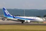 Yuseiさんが、熊本空港で撮影した全日空 737-781の航空フォト(飛行機 写真・画像)