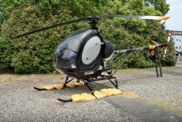 sepia2016さんが、霞ヶ浦飛行場で撮影した陸上自衛隊 TH-55J Osageの航空フォト(飛行機 写真・画像)